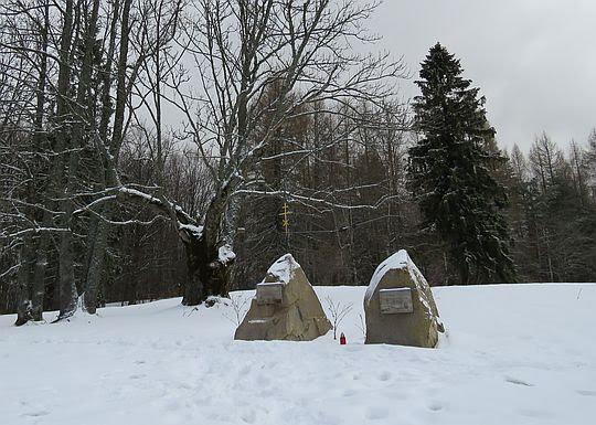 Pomnik ku czci Jerzego Harasymowicza