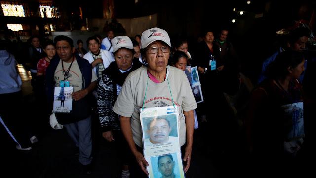 Madres de migrantes desaparecidos denuncian la situación ante el Gobierno de México
