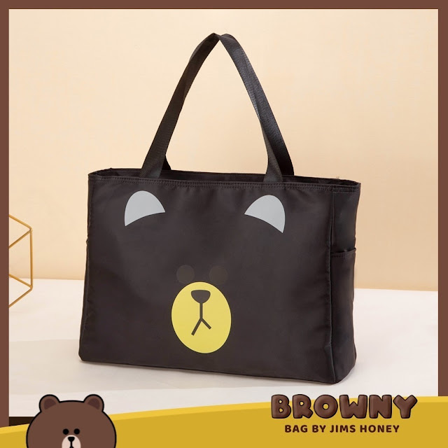 Jimshoney Browny Bag