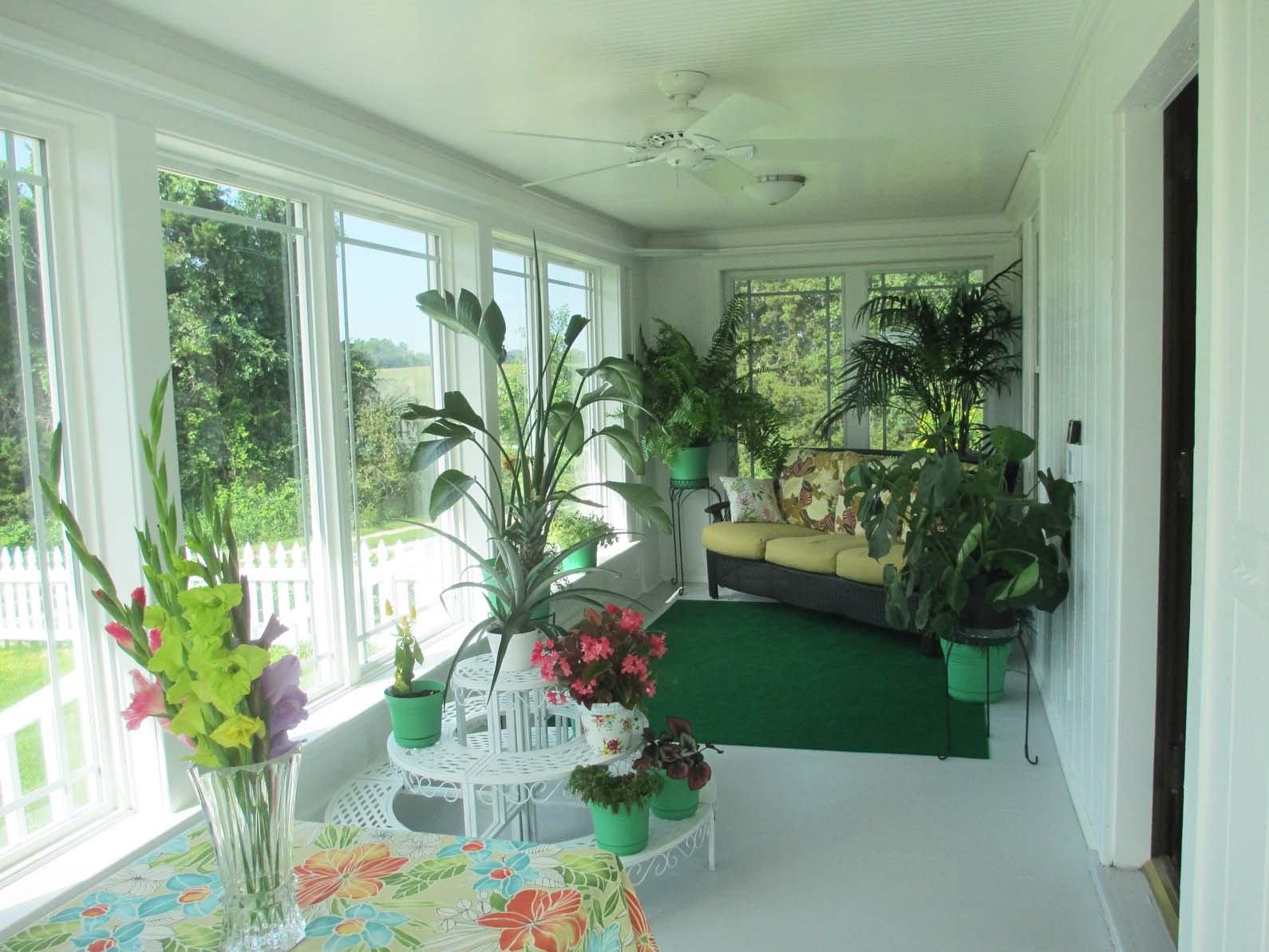 Enclosed Porch Painting Ideas