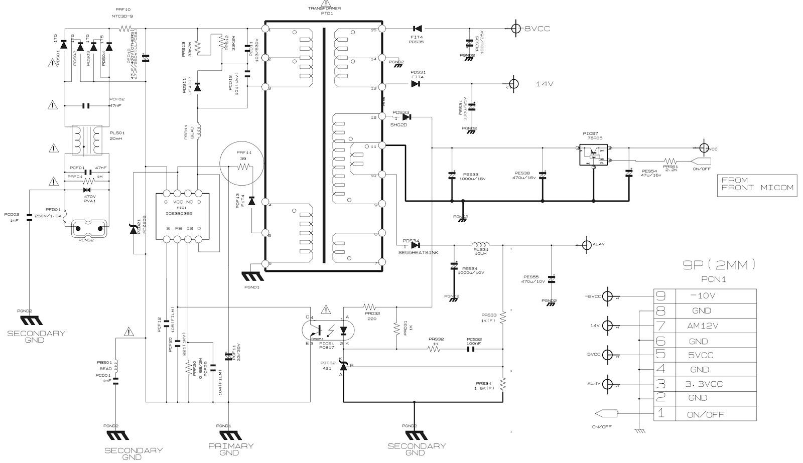 smps schematic diagram power plug wiring australia samsung dvd hd860  servo video decoder circuit