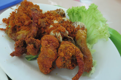 Mat Noh & Rose, fried chicken skin