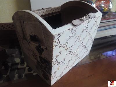 reciclar una caja portamandos