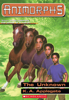 A girl (Cassie) turns into a horse