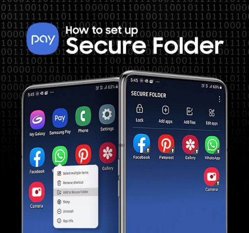 أين, يوجد, المجلد, الآمن, Secure ,Folder, على, جهازي؟