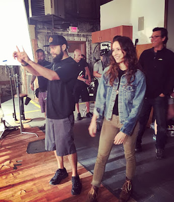 "Troian Bellisario directing PLL 7x15 ""In the Eye Abides the Heart"""