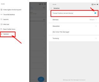 Cara Mudah Membuka / Menampilkan File Tersembunyi Di HP Android