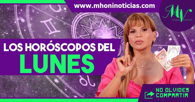 Los horóscopos del LUNES 12 de ABRIL del 2021 - Mhoni Vidente