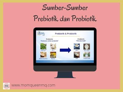 sumber prebiotik dan probiotik