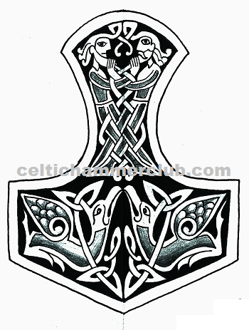celtic hammer club celtic norse art. Black Bedroom Furniture Sets. Home Design Ideas