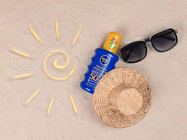 Солнцезащитный спрей Nivea Sun SPF50+ «Защита и увлажнение» (отзывы с фото)