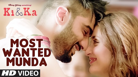 MOST WANTED MUNDA Arjun Kapoor Latest Hindi Video Songs 2016 Kareena Kapoor and Meet Bros