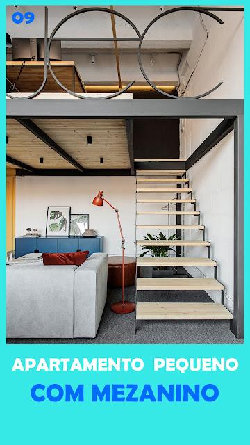 apartamento pequeno moderno