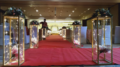 Wedding Pathway Decoration Works Kerala