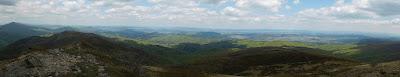 Panorama z Bukowego Berda.
