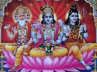Trimurti Brahma Vishnu Mahesh