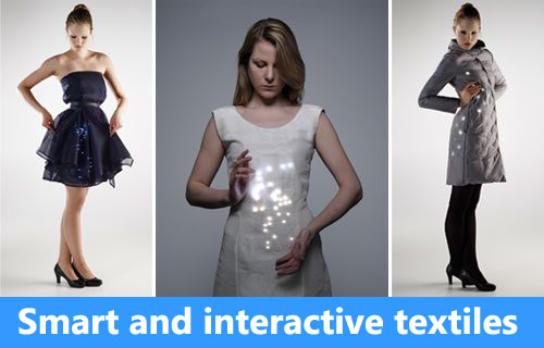 Smart and Interactive Textiles