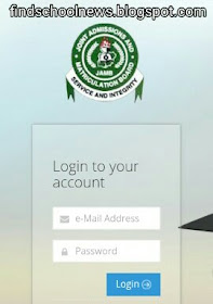 jamb log in page