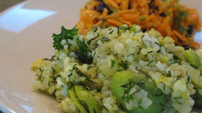 This is a Persian dish which I often make for my husband Persian Sabzi Polo (Herb Rice with Fava Beans) Recipe