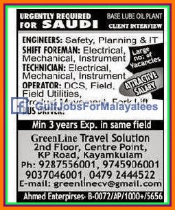 Construction Company jobs for Bahrain - Gulf Jobs for Malayalees