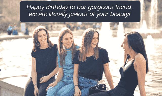 friend birthday pics