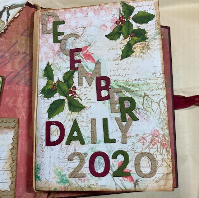 Junk Journal December Daily Episode 1