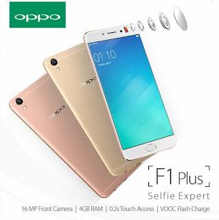 Oppo F1 Plus Selfie Expert Desain Cantik dengan Penyimpanan 64 GB