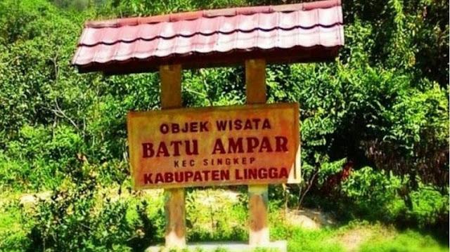 Objek Wisata Batu Ampar, Lingga
