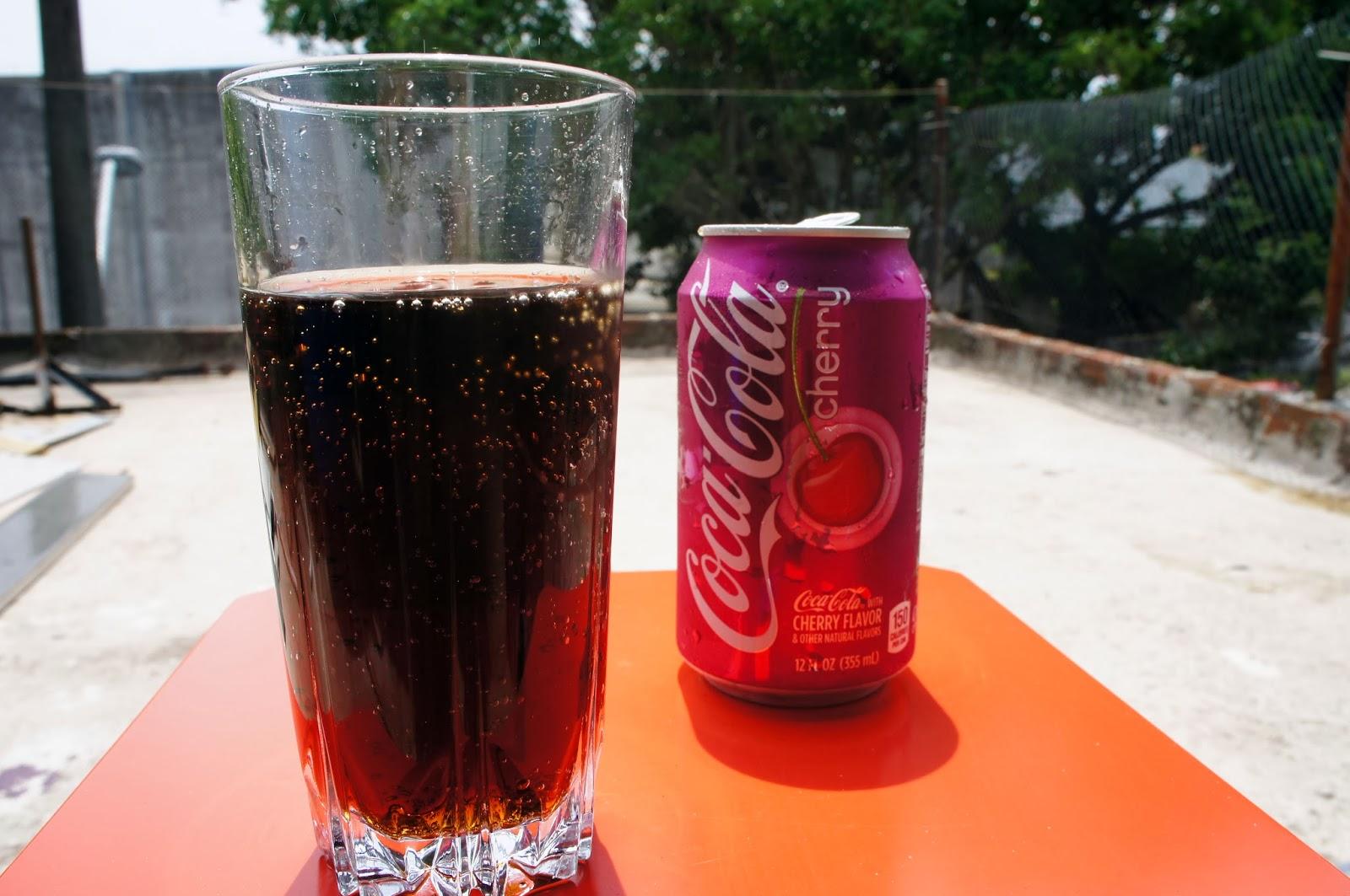 34c61ab322 Você conhece  Coca-Cola sabor baunilha e Coca-Cola sabor cereja ...