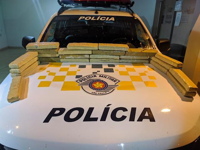 Passageira de ônibus é detida com quase 17 kg de maconha  -  Adamantina Notìcias