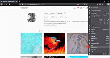 Instagram Workaround for Firefox