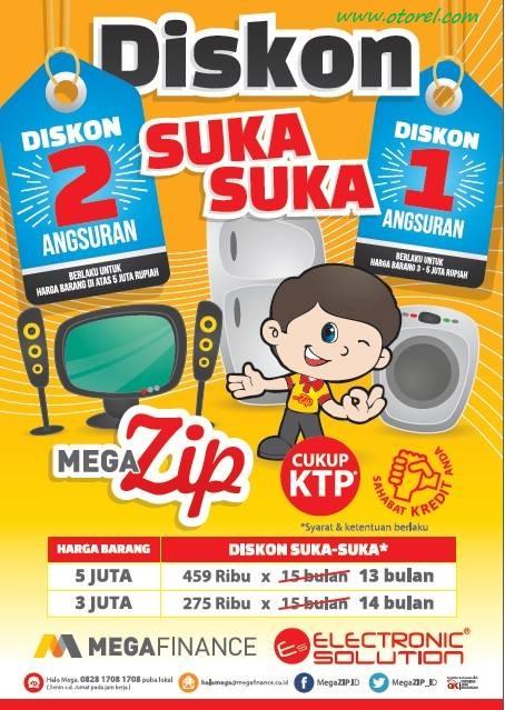 Electronic Solution Diskon Suka – Suka Promo Mega Zip Terbaru