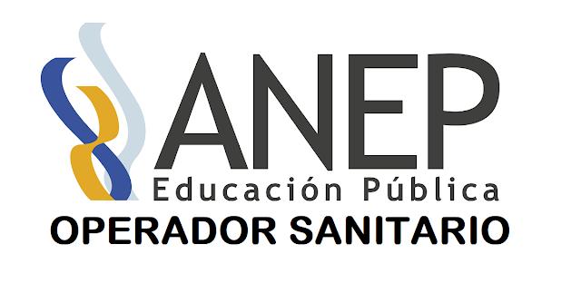 Operador Sanitario - ANEP - San Jose y Rocha