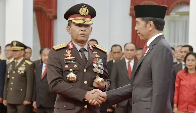 Jokowi Perintahkan Kapolri Proses Semua Pelaku Pidana dalam Demo UU Cipta Kerja