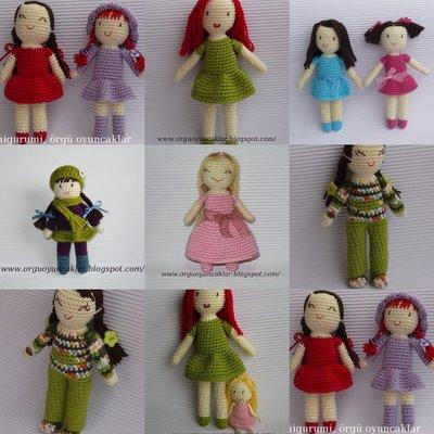Como hacer una Muñeca Amigurimi Paso a Paso