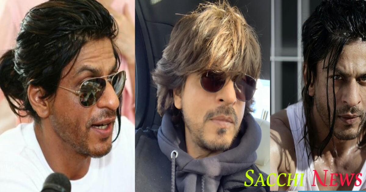 Bollywood actor shahrukh khan hairstyle