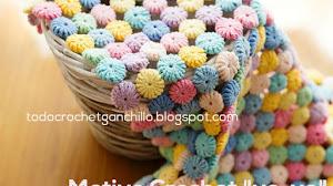 Cómo tejer punto Yo Yo al Crochet / patrones y video