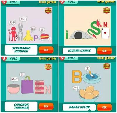 Jawaban tebak gambar level 29 nomor 1-4