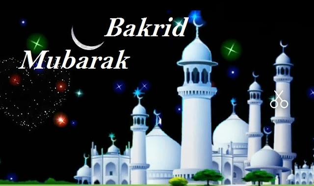 Bakrid wishes.