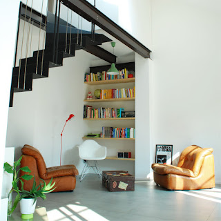 Rolling stairs duplex a Open House Torino
