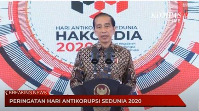 ICW: Salah Satu Pihak yang Padamkan Harapan Pemberantasan Korupsi adalah Jokowi