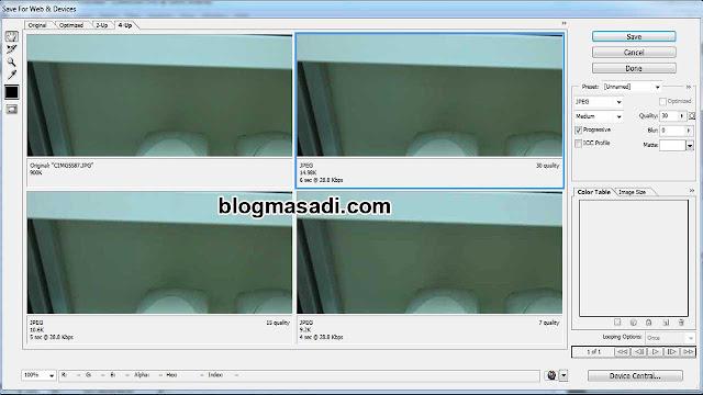cara kompres ukuran foto