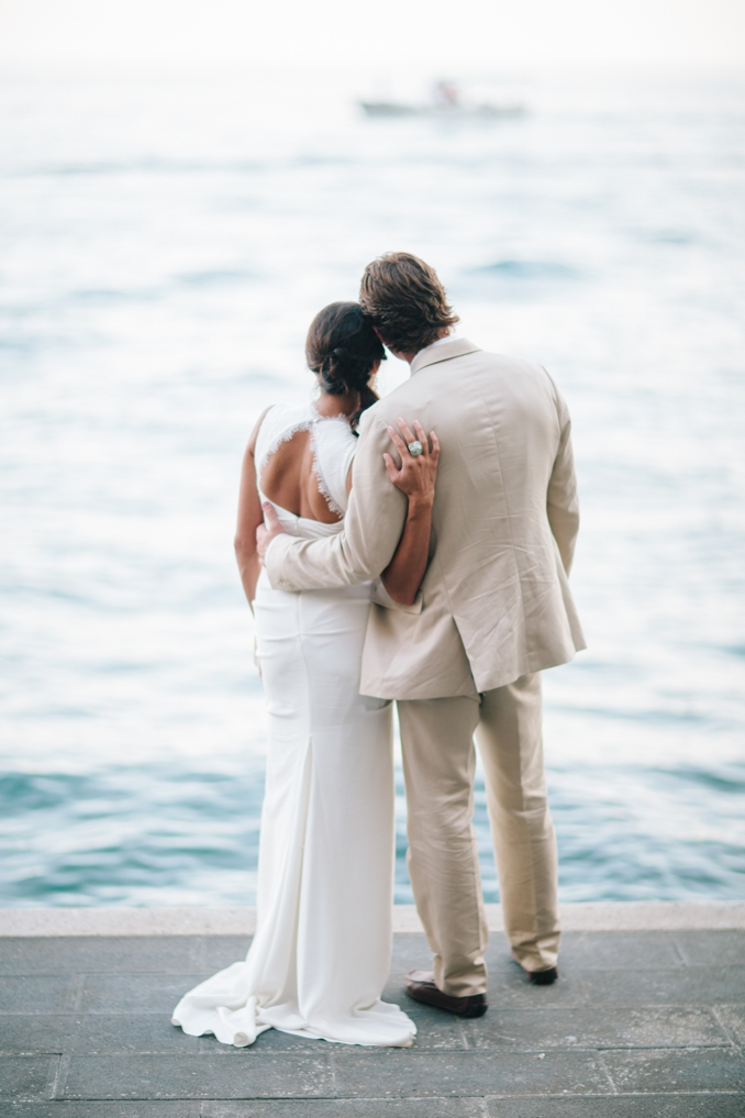 Gorgeous Positano Italy beach wedding by STUDIO 1208