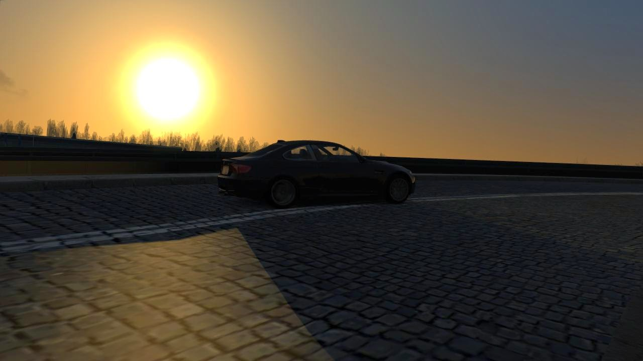 ASSETTO CORSA Evening, Street Rally KAROWA, Warsaw POLAND