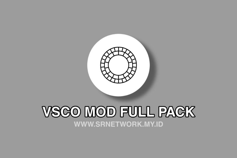 VSCO MOD APK FULL PACK