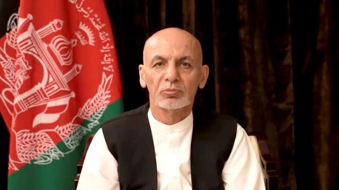 Ex-Afghan President Ghani apologises for fleeing