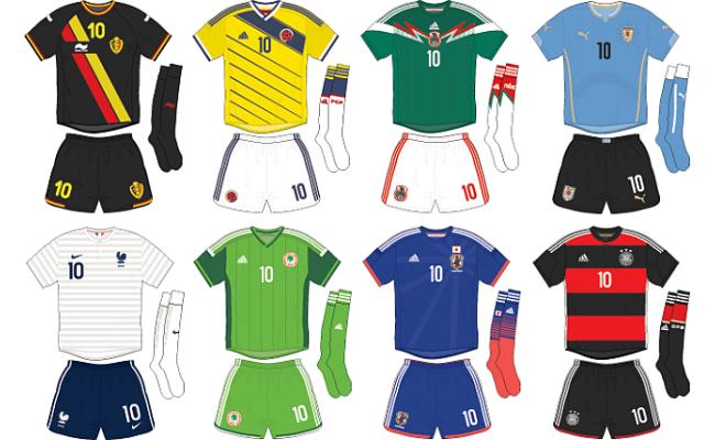 Pack de Camisas e Escudos para seleções Brasfoot 2019