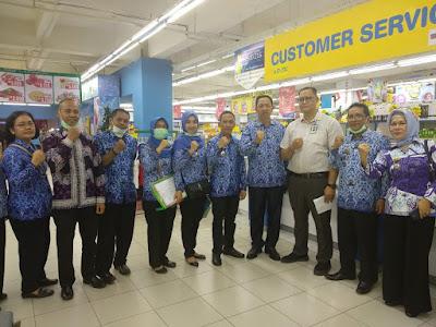 Dinas Ketahanan Pangan Provinsi Lampung Lakukan Sidak