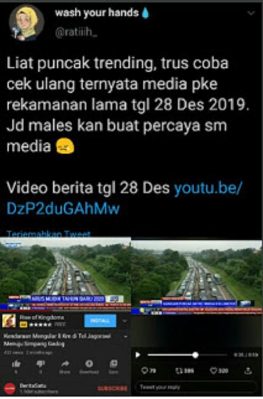 Polres Bogor BANTAH  Video Bohong Berita Satu Soal Kemacetan di Puncak Akibat Jakarta Lockdown