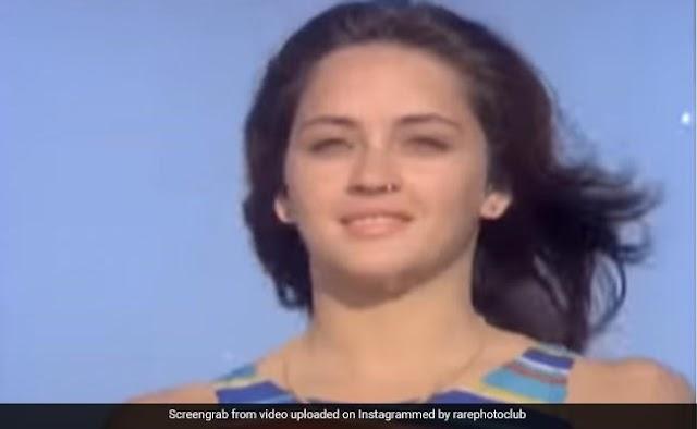 Nafisa Ali In A Vintage Tea Advert. See Throwback Video.